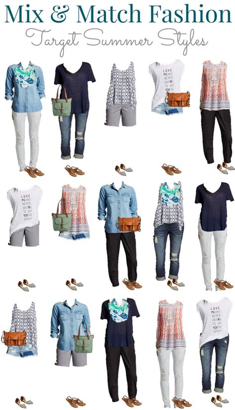 Mix And Match Wardrobe Pieces by Target Summer Into Fall Mix And Match Wardrobe Style On