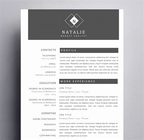 creative resume templates for mac eye catching resume templates awesome creative resume