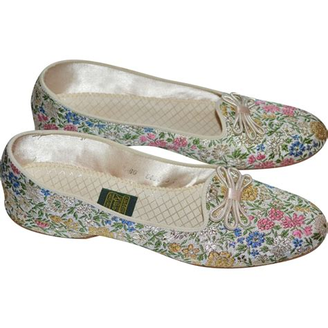 daniel green slippers daniel green floral brocade slippers sold on ruby