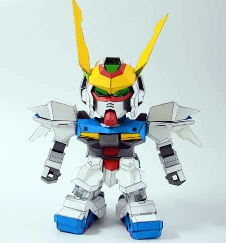 Sd Astray Frame By Tokooge24 sd gundam astray papercraft out frame green