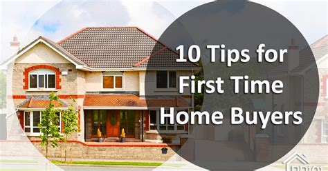 Tips For Time Home Buyers by 10 Top Tips For Time Home Buyers Zricks
