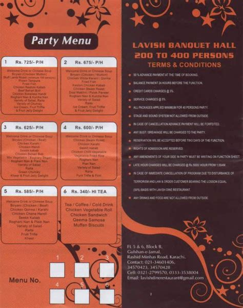 Dine Restaurant Com Gift Card - lavish dine restaurant karachi menu deals