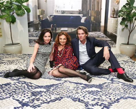 Rug Company Nyc by Architectural Digest Celebrates Diane Furstenberg S