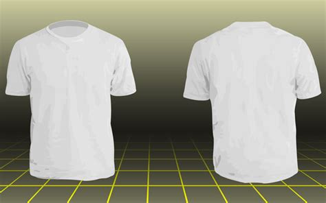 smijozeg blank white t shirt front and back