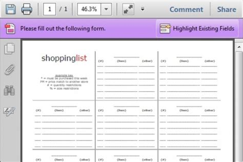home shopping list template free printable shopping lists updated