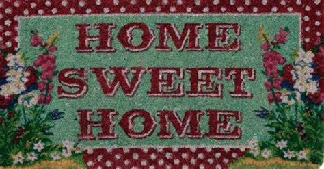 Home Sweet Home Welcome Mat by Second Marketplace Home Sweet Home Welcome Door Mat