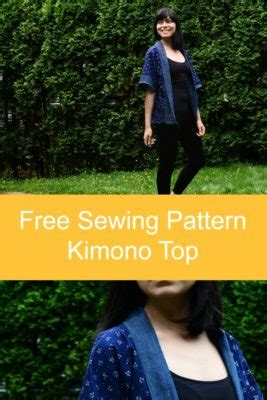 free sewing patterns and tutorials on the cutting floor sewing tutorial how to make a kimono top on the