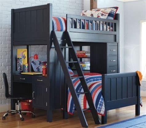 Bunk Beds With Desk For Boys 20 Loft Beds With Desks To Save Kid S Room Space Kidsomania