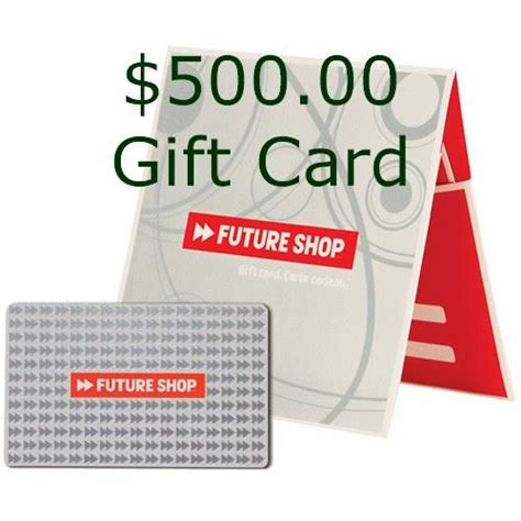 Future Shop Gift Card - future shop 500 00 gift card ladders up for the foundation funds for the