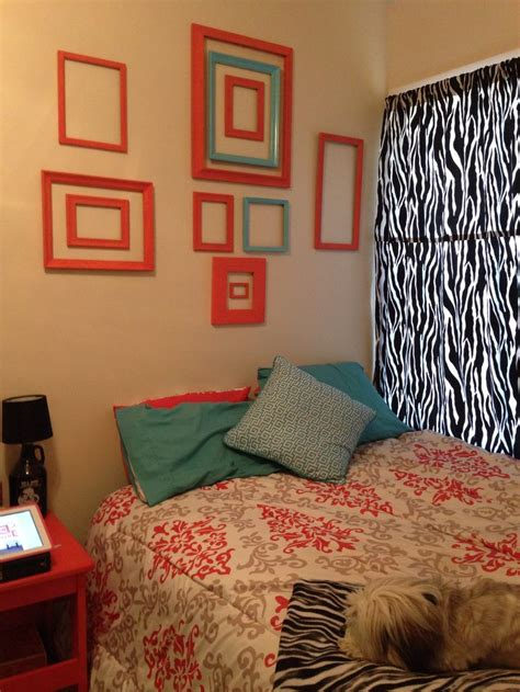 Teal And Coral Bedroom Caribbean Beach Bedroom Pinterest
