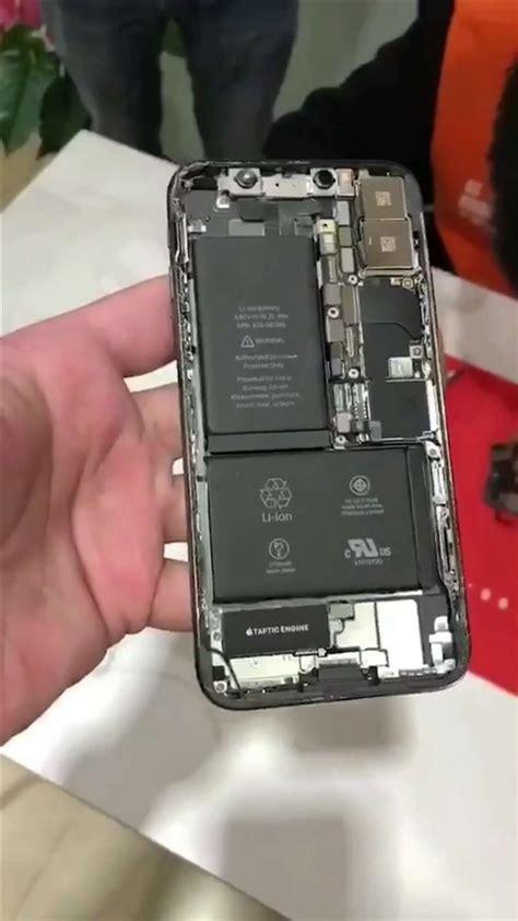 iphone   teardown shows   shaped dual battery