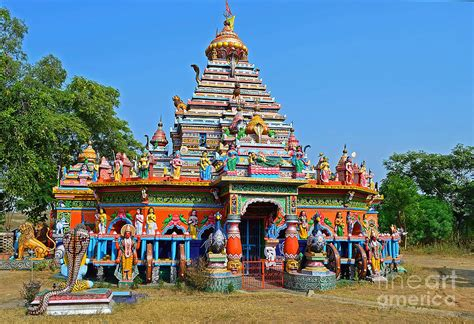 Home Decor Online India by Colorful Hindu Temple Photograph By Image World