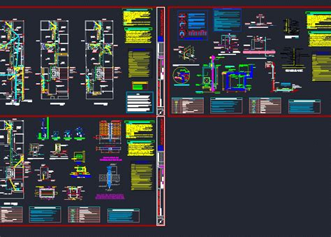 Drawing 90 Degree Autocad by Sanitary Housing4 Levels Dwg Block For Autocad Designs Cad