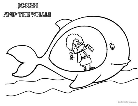 jonah coloring pages jonah and the whale coloring pages jonah in whale s belly