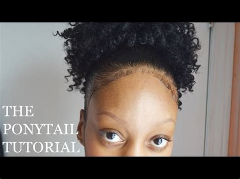 hump and drawstring ponytail tutorial youtube drawstring ponytail tutorial tyler laur 233 n youtube