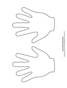 handprint template handprint templates tim s printables