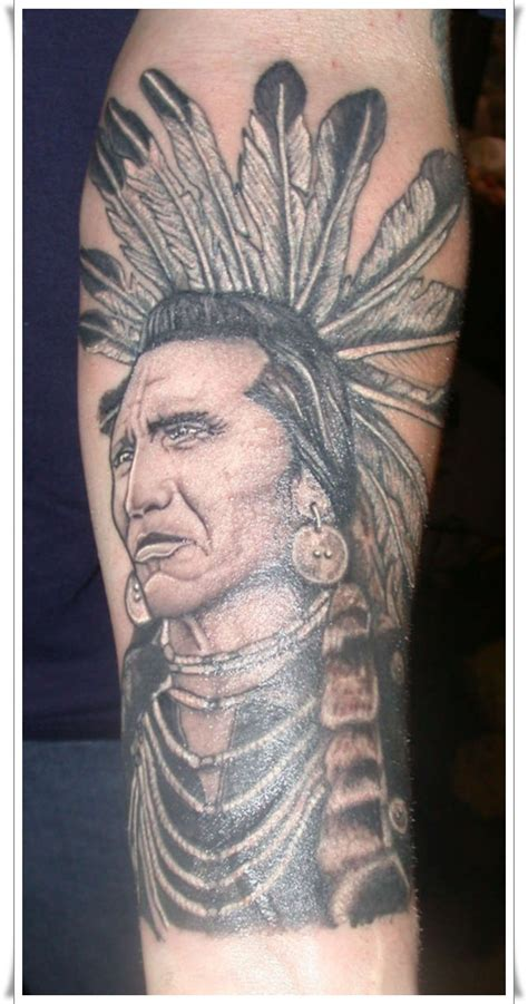 cherokee indian headdress tattoos joy studio design