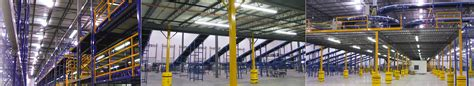 Racking Your Brain by Mezzanine Storage Systems That Utilize Warehouse Air Space