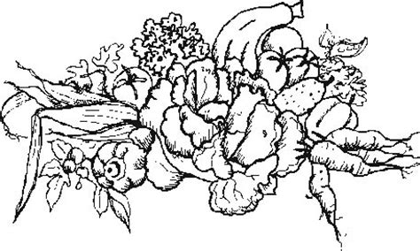 coloring pages of garden vegetables freecoloring4u com