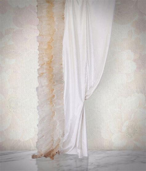 tenda da da letto tenda da da letto acquarello con rouche decorativa