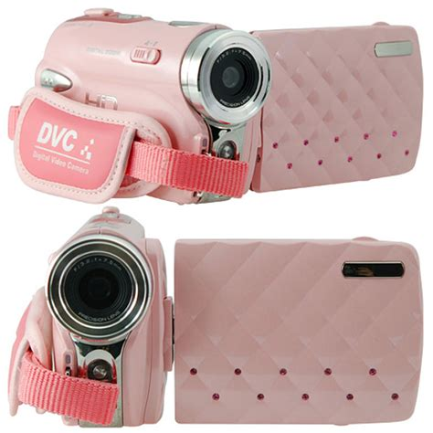 blogger video camera pink hd camcorder because girls like digital video too