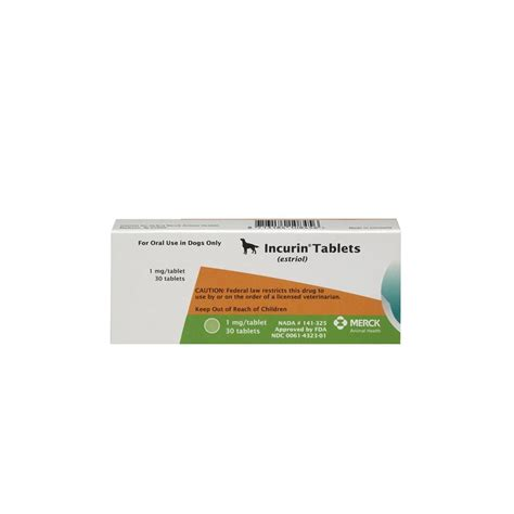 incurin for dogs incurin 1 mg 30 tablets dosage for dogs buy incurin for dogs
