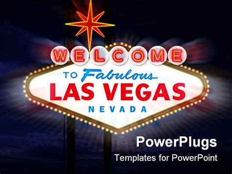 welcome to las vegas sign template best powerpoint template welcome to las vegas sign