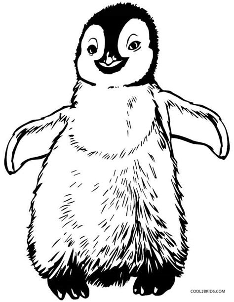 Galerry coloring pages penguin christmas