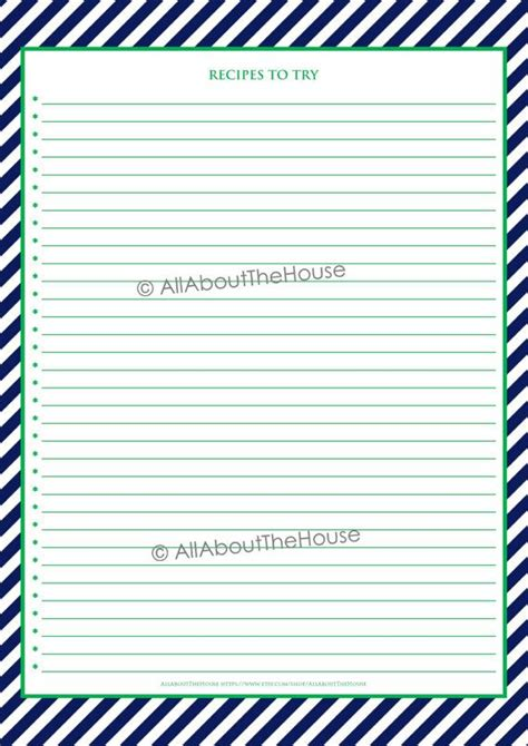 printable binder cover sheets editable recipe binder printables recipe sheet recipe card