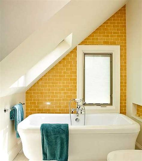 25 modern bathroom ideas adding sunny yellow accents