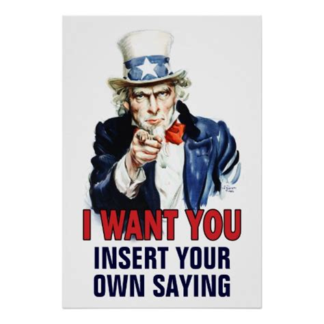 i want you classroom poster i want you customize poster zazzle