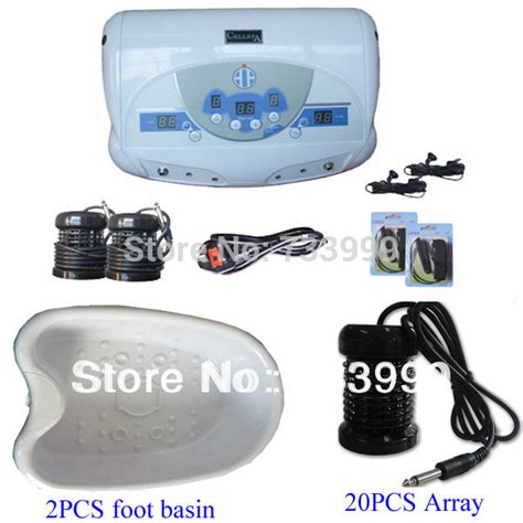 Ionspa Mp3 Dual Detox by Dual Detox Foot Spa Machine With Mp3 Player 20 Pcs Arrays