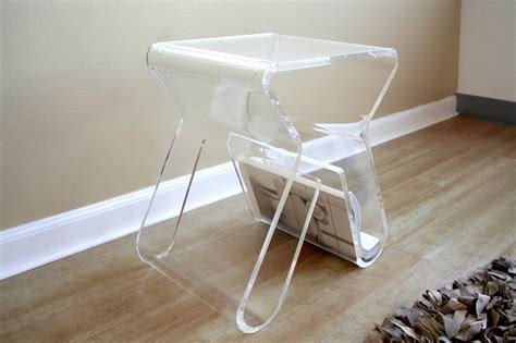 acrylic coffee table design images  pictures