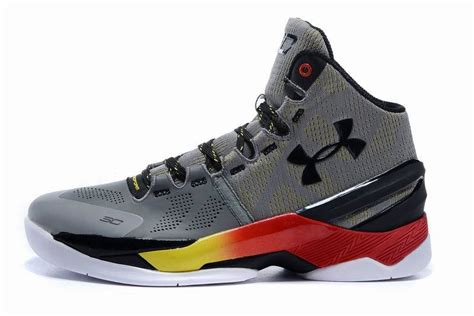 Sepatu Basket Curry 2 Low Iron Sharpens armour curry 2 alle rot