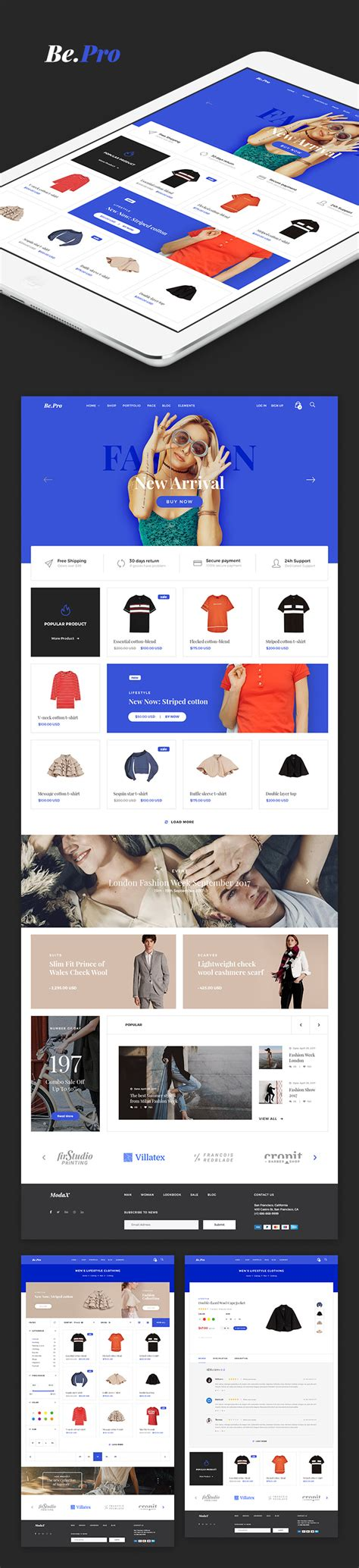 fashion ecommerce templates gallery templates design ideas