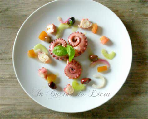 polpo in cucina insalata di polpo in cucina da licia