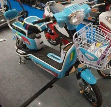 Sepeda Listrik Saturnus Dengan Aki 36v 12 A Bestseller jual sepeda listrik tiger selis united terbaru 187 alihamdan