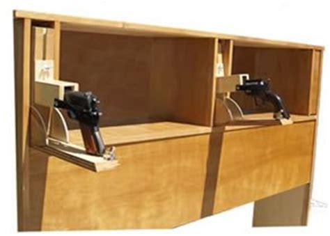 gun safe headboard headboard with secret gun compartments gentlemint