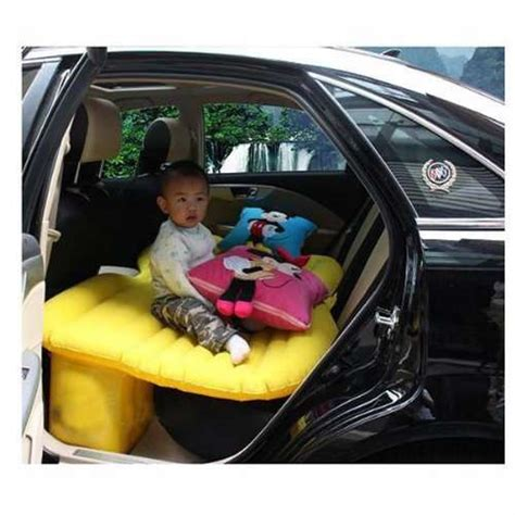 blow up car bed inflatable backseat beds fuloon car travel pvc inflatable bed