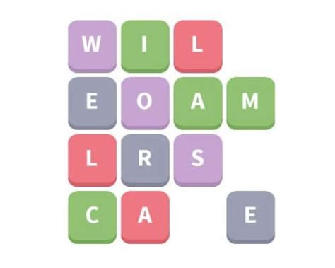 Letters Word Whizzle