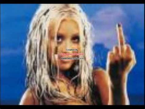 Eminem Wants To Shut Up by Aguilera The Real Slim Shady Plz Shut Up With