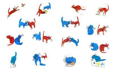 gato rojo gato azul 8494113658 so 241 ando cuentos gato rojo gato azul