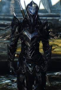 Swords Of Revealing Light Reinforced Ebony Armor броня и одежда Skyrim Le моды