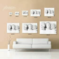 picture sizes canvas size wall for the home