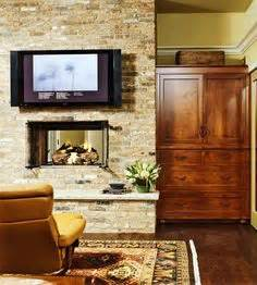 i have always loved a double sided fireplace that is shared with the bathroom at the grounds of alexandria exposed copper pipe