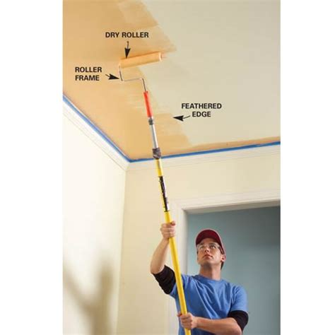 Tips On Painting A Ceiling by How To How To Paint High Ceiling