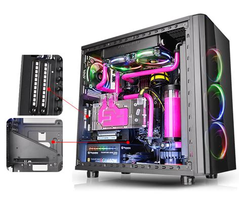 thermaltake view 31 fan controller thermaltake global view 31 tempered glass rgb edition