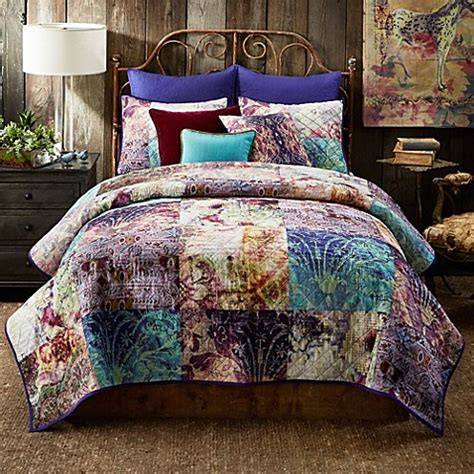 tracy porter bedding tracy porter 174 poetic wanderlust 174 calantha reversible quilt bed bath beyond
