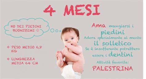 alimentazione 6 mesi neonato neonato 4 mesi scatto di crescita peso e poppate al