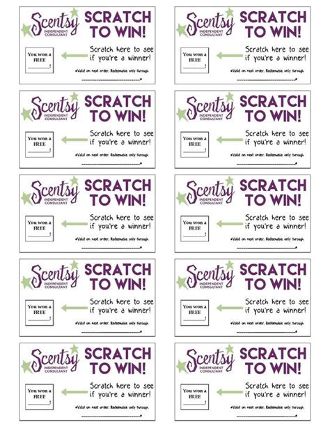 Scratch Cards For Business
